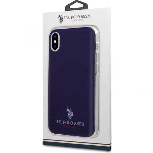 carcasa iphone x iphone xs licencia polo ralph lauren marino 2