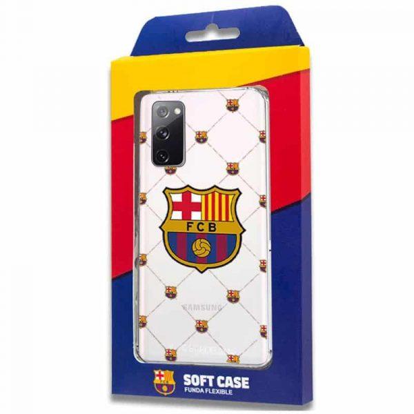 carcasa samsung galaxy s20 fe licencia futbol fc barcelona 2