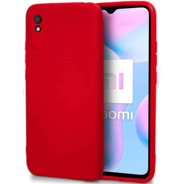 carcasa xiaomi redmi 9a 9at cover rojo 1