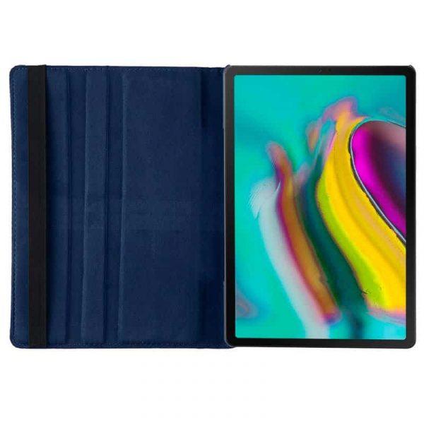 funda samsung galaxy tab s5e t720 t725 polipiel azul 105 pulg 3