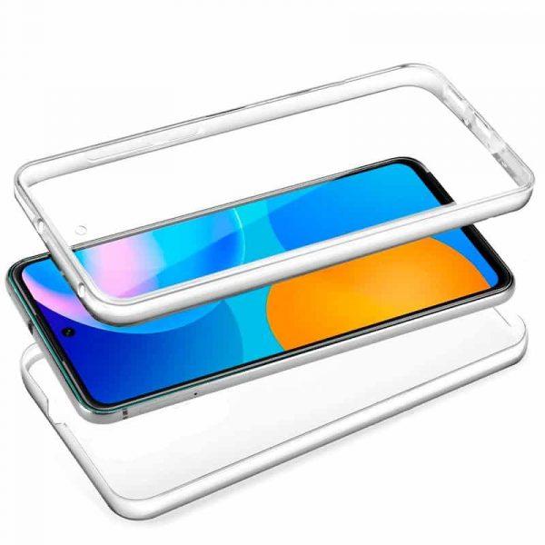 funda silicona 3d huawei p smart 2021 transparente frontal trasera 2