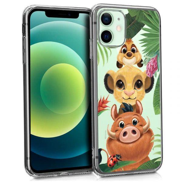 carcasa iphone 12 12 pro licencia disney rey leon 1