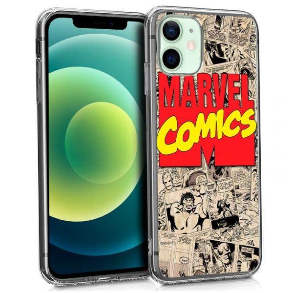 carcasa iphone 12 12 pro licencia marvel comics 1