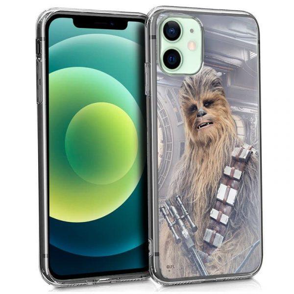 carcasa iphone 12 12 pro licencia star wars chewbacca 1