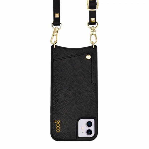 carcasa iphone 11 correa pop rock negro 1