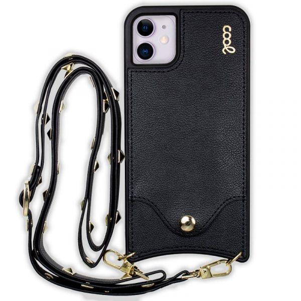 carcasa iphone 11 correa pop rock negro 3