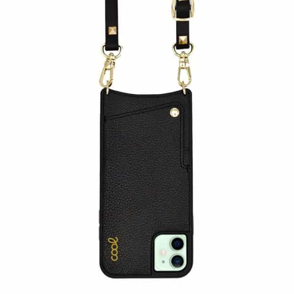 carcasa iphone 12 12 pro correa pop rock negro 1