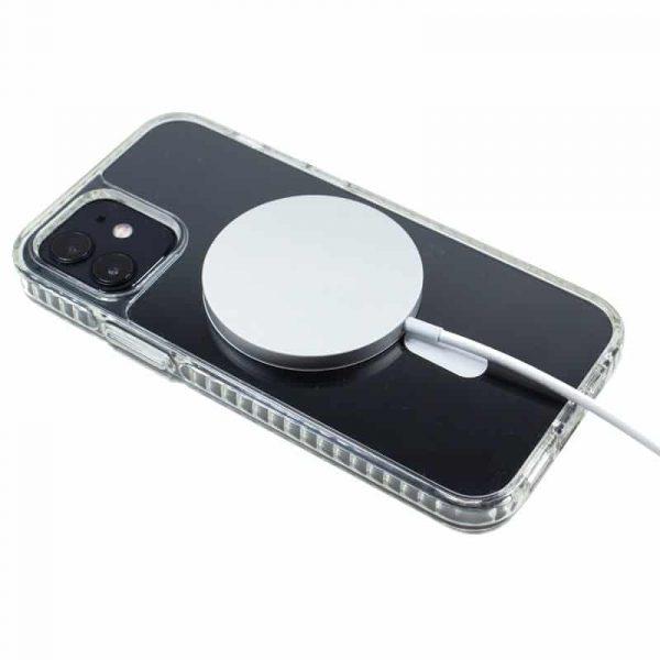 carcasa iphone 12 12 pro magnetica transparente 3