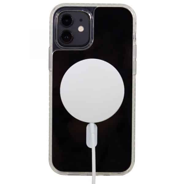 carcasa iphone 12 mini magnetica transparente 3