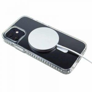 carcasa iphone 12 mini magnetica transparente 4