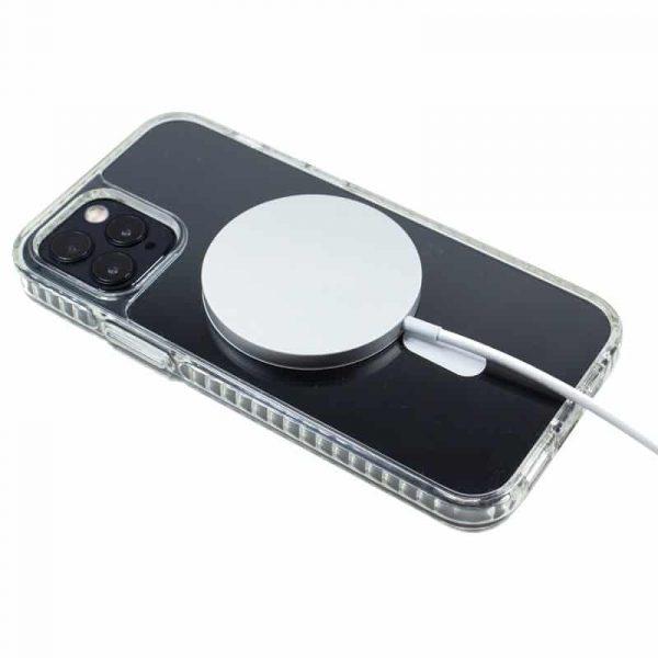 carcasa iphone 12 pro max magnetica transparente 2