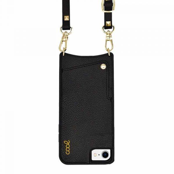 carcasa iphone 7 8 se 2020 correa pop rock negro 1
