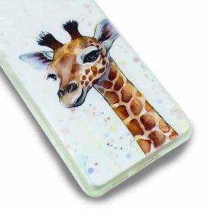 carcasa xiaomi pocophone m3 redmi 9t dibujos jirafa 2