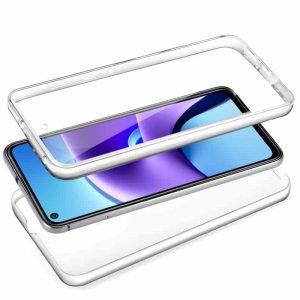 funda silicona 3d xiaomi redmi note 9t transparente frontal trasera 2