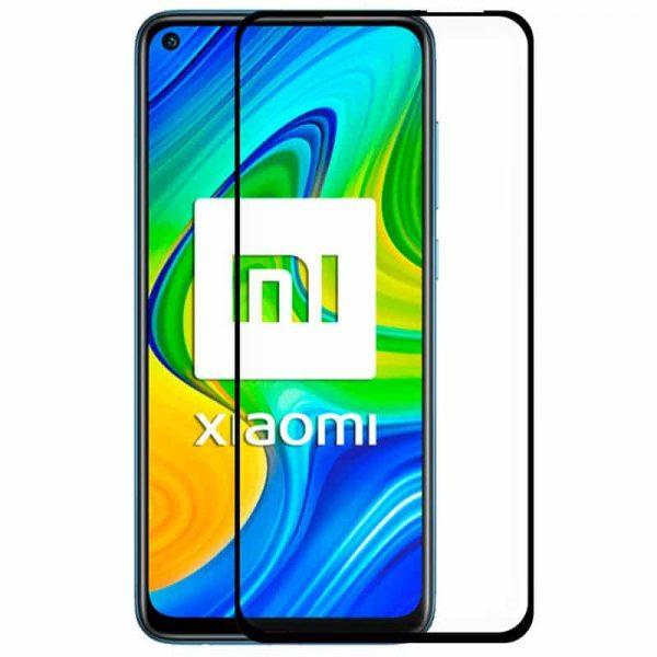 protector pantalla cristal templado cool para xiaomi redmi note 9 note 9t full 3d negro 1