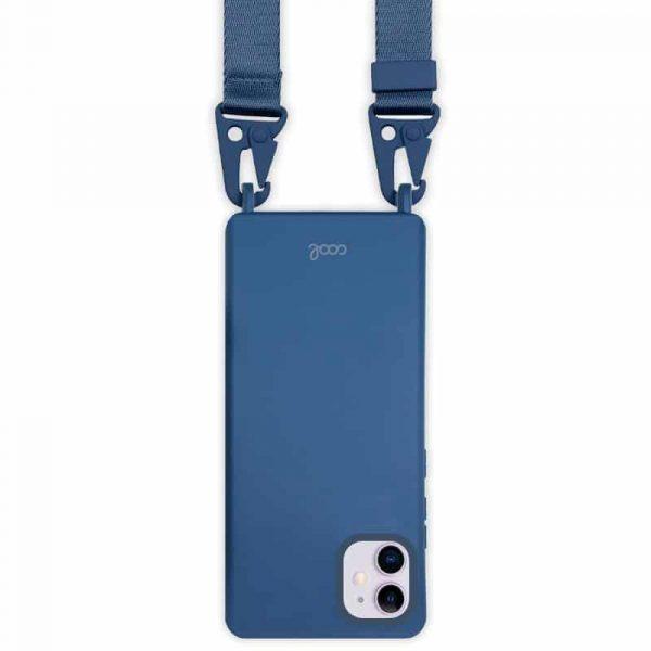 carcasa iphone 11 cinta azul 2