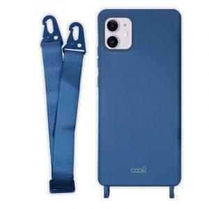 carcasa iphone 11 cinta azul 4