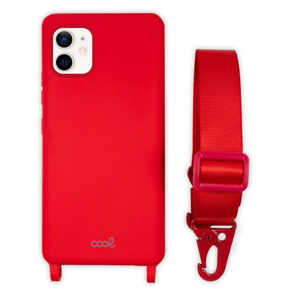 carcasa iphone 12 mini cinta rojo 1