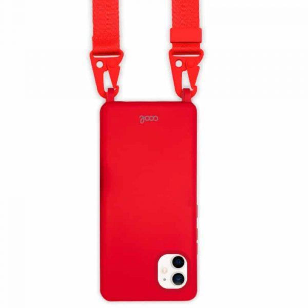 carcasa iphone 12 mini cinta rojo 2