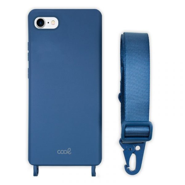 carcasa iphone 7 8 se 2020 cinta azul 1