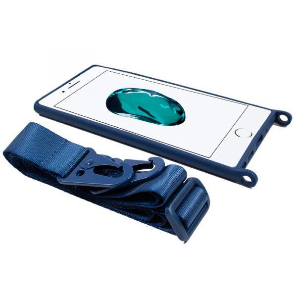 carcasa iphone 7 8 se 2020 cinta azul 3
