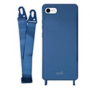 carcasa iphone 7 8 se 2020 cinta azul 4