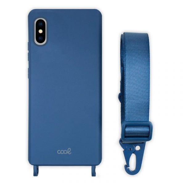 carcasa iphone x iphone xs cinta azul 1