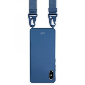 carcasa iphone x iphone xs cinta azul 2