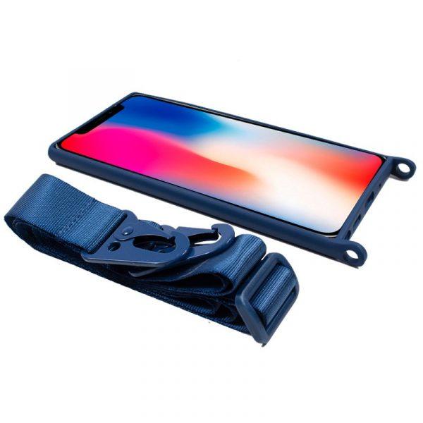 carcasa iphone x iphone xs cinta azul 3