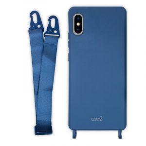 carcasa iphone x iphone xs cinta azul 4