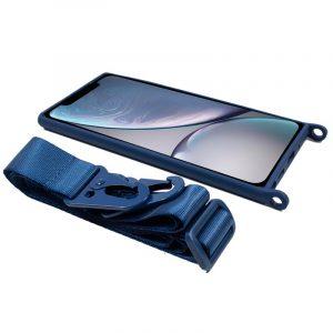carcasa iphone xr cinta azul 3
