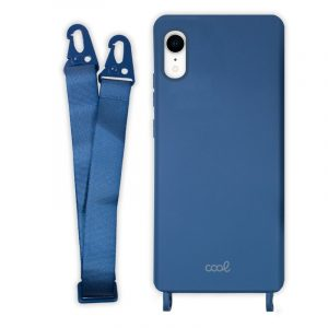 carcasa iphone xr cinta azul 4