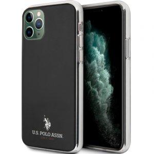 carcasa iphone 11 pro max polo ralph lauren negro 1