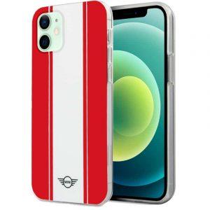carcasa iphone 12 12 pro mini cooper rojo blanco 1