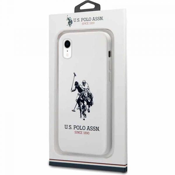 carcasa iphone xr polo ralph lauren blanco 2