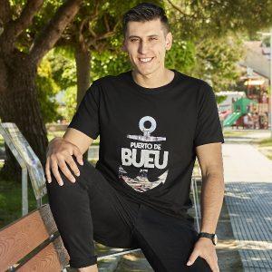 camiseta negra puerto bueu 1