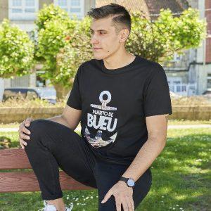 camiseta negra puerto bueu 2
